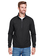 J America JA8434 Men Omega Stretch Quarter-Zip at GotApparel