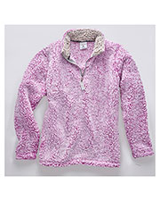 J America JA8451 Women Epic Sherpa Quarter-Zip at GotApparel
