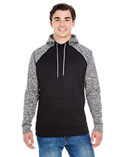 J America JA8612 Men Colorblock Cosmic Pullover Hood at GotApparel