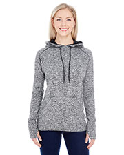 J America JA8616 Women Cosmic Contrast Fleece Hood at GotApparel