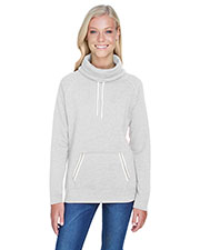 J America JA8653 Women Relay Cowl Neck at GotApparel