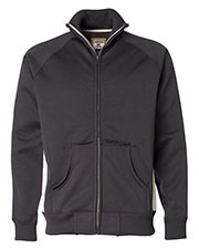 J America JA8858 Men Vintage Poly Fleece Track Jacket at GotApparel