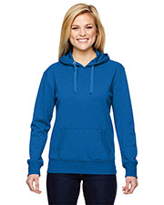 J America JA8860 Women Glitter French Terry Hood at GotApparel