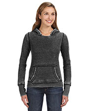 J America JA8912 Women Zen Pullover Fleece Hood at GotApparel