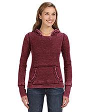 J America JA8912 Women Zen Pullover Fleece Hood at GotApparel
