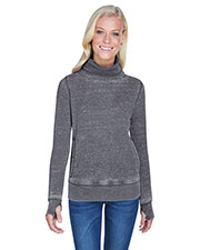 J America JA8930 Women 7 oz Zen Fleece Cowl Neck at GotApparel