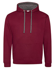 Just Hoods By AWDis JHA003 Men Midweight Varsity Contrast Hood at GotApparel