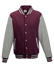 Just Hoods By AWDis JHA043 Men Heavyweight Letterman Jacket at GotApparel