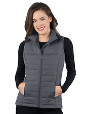 Tri-Mountain JL8258 Women Quilted Puffer Vest at GotApparel