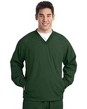 Sport-Tek® TJST72 Men Tall VNeck Raglan Wind Shirt at GotApparel