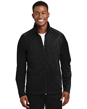 Sport-Tek JST90 Men Tricot Track Jacket at GotApparel