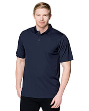 Tri-Mountain K022 Men Vital Snap Short-Sleeve Polo Shirt at GotApparel