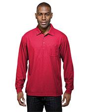 TM Performance K107PLS Men Endurance Pocket Knit Golf Shirt at GotApparel