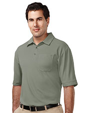 TM Performance K107P Men's Endurance Pocket Short-Sleeve Golf Shirt at GotApparel