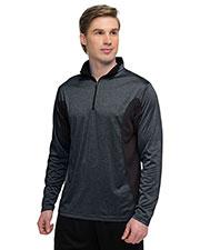 Tri-Mountain K210 Men 5 Oz 100% polyester ¼-zip pullover at GotApparel