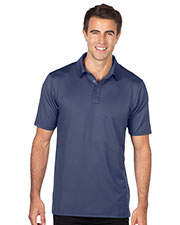 Tri-Mountain K419 Men Jacquard Polo at GotApparel