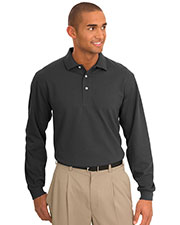Port Authority TLK455LS Men Tall Rapid Dry  Long Sleeve Polo at GotApparel