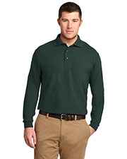 Port Authority K500LS Men Long-Sleeve Silk Touch Polo at GotApparel