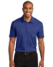 Port Authority K540P Men Silk Touch Performance Pocket Polo at GotApparel