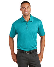 Port Authority K576 Adult Trace Heather Polo at GotApparel