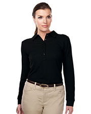 TM Performance KL103LS Women's Knit Long-Sleeve Golf Shirt at GotApparel