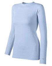 Duofold by Champion KMW3 Women Thermals BaseLayer Shirt at GotApparel