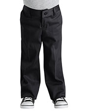 Dickies KP3318 Girls Classic Fit Straight-Leg Twill Stretch Pant at GotApparel