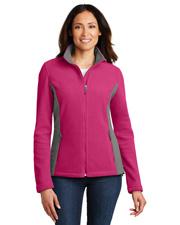 Port Authority L216 Women Colorblock Value Fleece Jacket at GotApparel