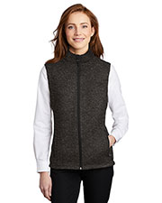 Port Authority L236 Women Sweater Fleece Vest at GotApparel