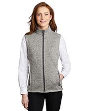 Port Authority L236 Women Sweater Fleece Vest at GotApparel