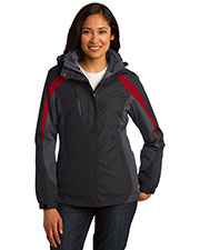Port Authority L321 Women Colorblock 3-in-1 Jacket at GotApparel