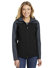 Port Authority L335 Women Hooded Core Soft Shell Jacket at GotApparel