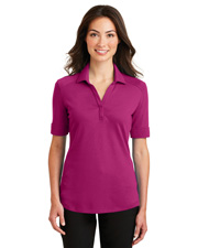 Port Authority L5200 Women Silk Touch Interlock Performance Polo at GotApparel