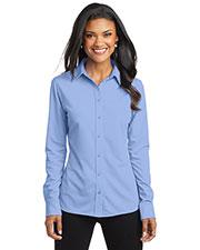 Port Authority L570 Women Dimension Knit Dress Shirt at GotApparel