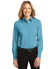 Port Authority L608 Women Long-Sleeve Easy Care Shirt at GotApparel