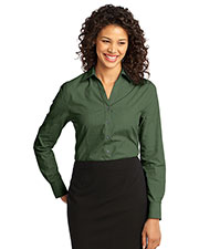 Port Authority L640 Women Crosshatch Easy Care Shirt at GotApparel