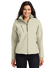 Port Authority L705 Women Textured Soft Shell Jacket at GotApparel