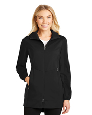 Port Authority L719 Women Active Hooded Soft Shell Jacket at GotApparel
