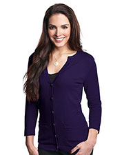 LILAC BLOOM LB929 Women Isabella 3/4 Sleeve Cardigan Sweater at GotApparel