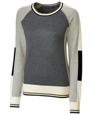 Cutter & Buck LCS08102 Women Stride Colorblock Sweater at GotApparel