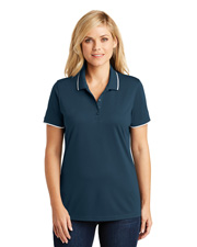 Port Authority LK111 Women Zone UV Micro-Mesh Tipped Polo at GotApparel