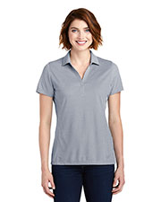 Port Authority LK582 Ladies 4.9 oz Poly Oxford Pique Polo at GotApparel