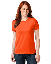 Port & Company LPC55 Women 50/50 Cotton/Poly T-Shirt at GotApparel