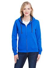 Fruit of the Loom LSF73R Women 7.2 oz. Sofspun® Full-Zip Hooded Sweatshirt at GotApparel