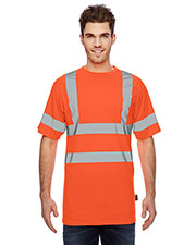 OccuNomix LSSETP Men Class 3 Birdseye Wicking T-Shirt at GotApparel