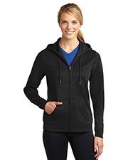 Sport-Tek® LST238 Women Sportwick Fleece Full-Zip Hooded Jacket at GotApparel