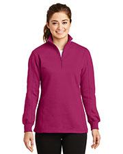 Sport-Tek® LST253 Women 1/4-Zip Sweatshirt at GotApparel