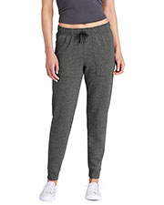 Sport-Tek LST299 Women PosiCharge ® Tri-Blend Wicking Fleece Jogger at GotApparel