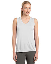 Sport-Tek® LST352 Women Sleeveless PosiCharge®  Competitor  V-Neck Tee at GotApparel