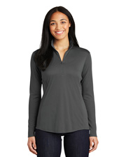Sport-Tek® LST357 Women PosiCharge® Competitor™ 1/4-Zip Pullover  Raglan at GotApparel